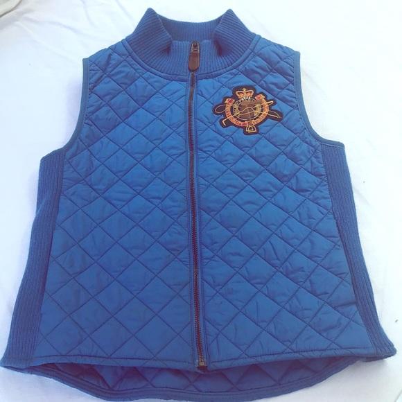 Ralph Lauren Other - Ralph Lauren Royal Blue Vest